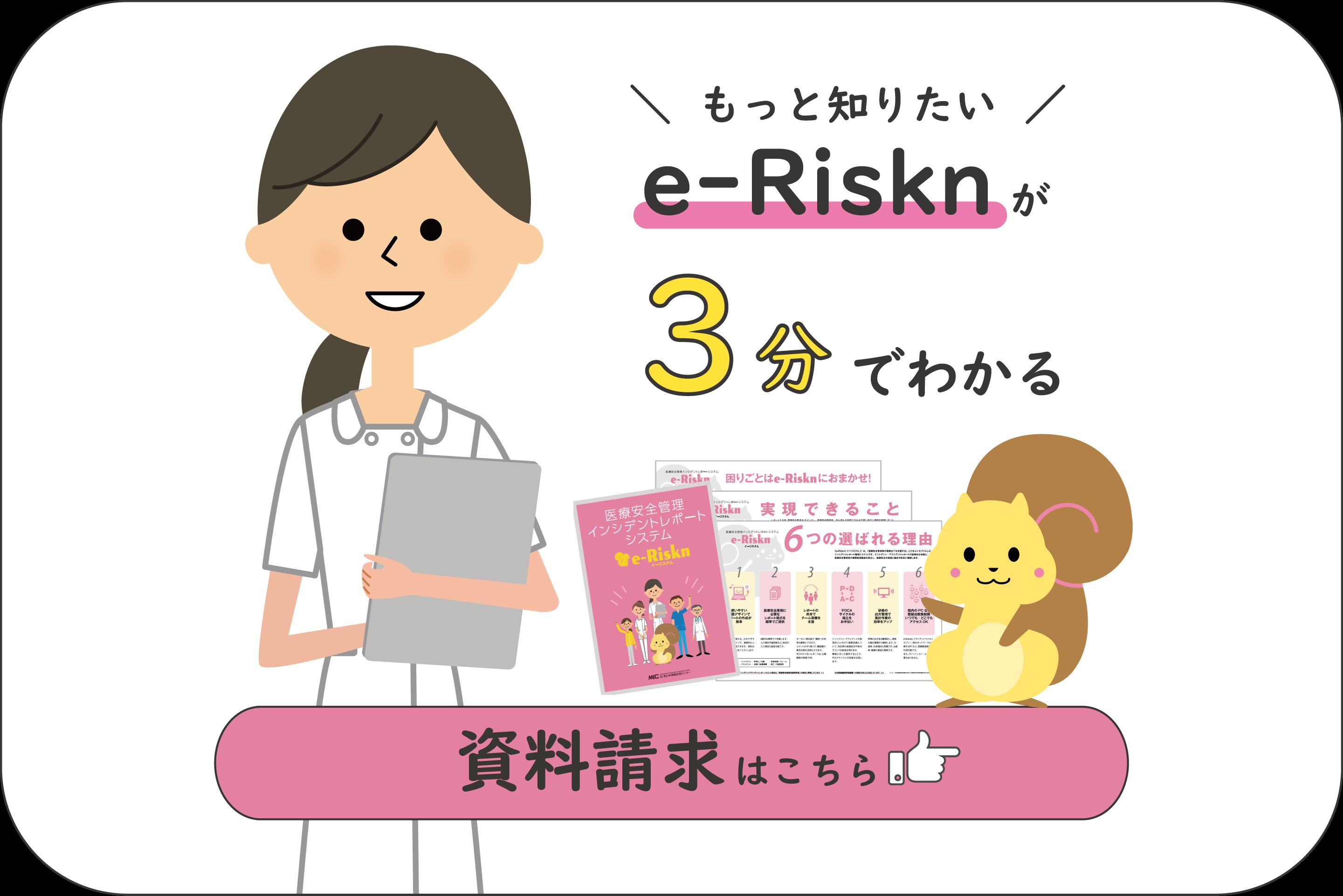 e-Risknが3分でわかる資料ダウンロード